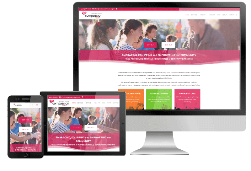 Compassion Trust website sample
